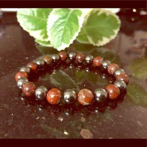 Gem bead bracelet